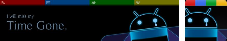 TimeGone header and avatar (2011)